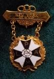 Масонский ритуальный орден знак медаль PLP, фото №2