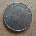 1 крона  1982  Норвегия  (П.12.29)~, фото №2
