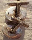 Запонки с камеями, серебро., фото №11