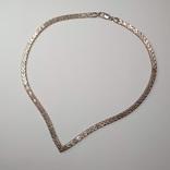 Винтажное итальянское серебряное колье, фото №2