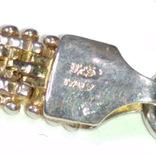 Винтажное итальянское серебряное колье, фото №9
