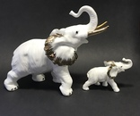 Слониха и слоненок, фото №3