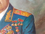 Картина соцреализм Брежнев в кабинете Редкая!!!, фото №5