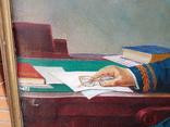 Картина соцреализм Брежнев в кабинете Редкая!!!, фото №7