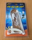 Настольная USB Лампа USB LED с зажимом А-013, фото №2