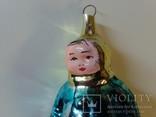 Ёлочная игрушка ссср малыш - укутыш  50 -е г., фото №4