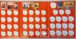 10 шт. Планшет для ювілейних і памятних монет СРСР фото 3