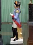 Офицер фарфор под реставрацию 22 см, фото №4