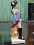 Офицер фарфор под реставрацию 22 см, фото №5