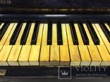 Пианино Немецкое слоновая Кость, фото №4