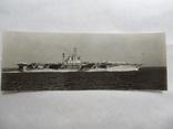 Фото Авианосец США на ходу CV-66 уничтоженный 314 м 180/66мм, фото №2