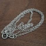 Цепочка на ребёнка или браслет, серебро, фото №5