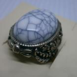 Кольцо с крупной вставкой., фото №3