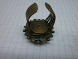 Фирменное кольцо с камнем Jan Michaels San Francisco. Камень натуральный, фото №6