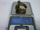 Фирменное кольцо с камнем Jan Michaels San Francisco. Камень натуральный, фото №7