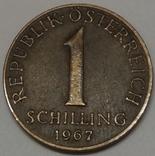 Австрія 1 шилінг, 1967