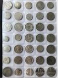 Колекція срібних монет 35 штук, фото №2