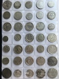 Колекція срібних монет 35 штук, фото №3