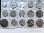 Колекція срібних монет 35 штук, фото №8