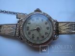 Женские часы, AM.Charnier, глубокая позолота, фото №2