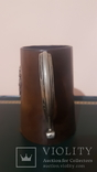 Кружка/бокал, кожаный, фото №7