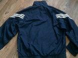Adidas - фирменная мастерка ветровка разм.50-52, фото №7