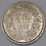 Швейцарія ½ франка, 1983