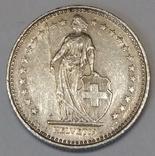 Швейцарія ½ франка, 1983 фото 2