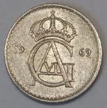 Швеція 10 ере, 1969 фото 2