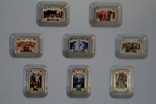 """Коллекция: художественные серебряные монеты Серия: """"Чудеса Христовы""""Тираж 6000., фото №2"""