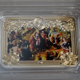 """Коллекция: художественные серебряные монеты Серия: """"Чудеса Христовы""""Тираж 6000., фото №4"""