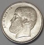 Греція 5 драхм, 1990 фото 2