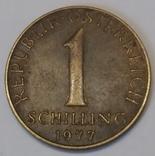 Австрія 1 шилінг, 1977