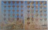 Альбом-каталог для разменных монет Украины с 1992г. (синий), фото №5