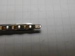 Зажим для галстука,для волос Серебро 875 со звездой Вес - 5,43 грамм, фото №11