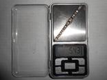 Зажим для галстука,для волос Серебро 875 со звездой Вес - 5,43 грамм, фото №12