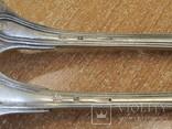 """Дві виделки з ініціаліми HN Christofle Франція 1844-1862 """"91"""", вага двух 129 грм., фото №8"""