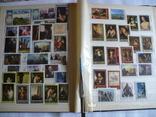 Альбом с марками искусство стран мира MNH(**), фото №12