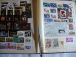 Альбом с марками искусство стран мира MNH(**), фото №13