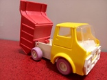 Винтажная Детская Игрушка Ссср машинка - грузовик- самосвал. Донецкий Зи., фото №2