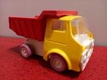 Винтажная Детская Игрушка Ссср машинка - грузовик- самосвал. Донецкий Зи., фото №3
