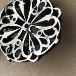 Серебряное колье с баламутом, фото №7