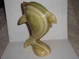 Дельфин из оникса, фото №4