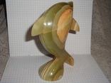 Дельфин из оникса, фото №6