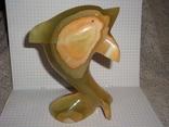 Дельфин из оникса, фото №7