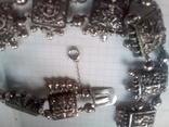 Ожерелье серебро, фото №4