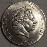 Остров Кука 5 центов 2000, фото №3