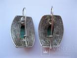 Серебряные серьги, фото №9