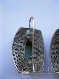Серебряные серьги, фото №10