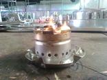 Мини горелка походная (нерж. сталь), фото №11